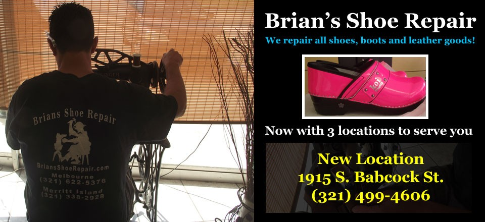 Melbourne FL Shoe & Boot Repair Shop