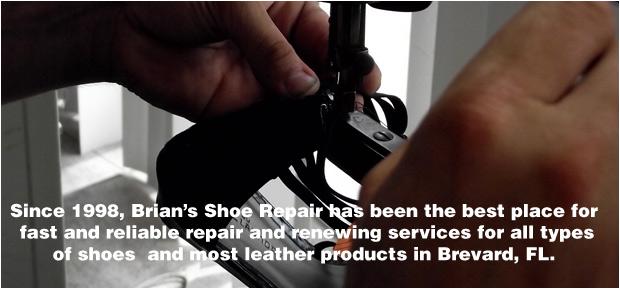 Shoe Repair - Merritt Island, FL - Brian's Shoe Repair